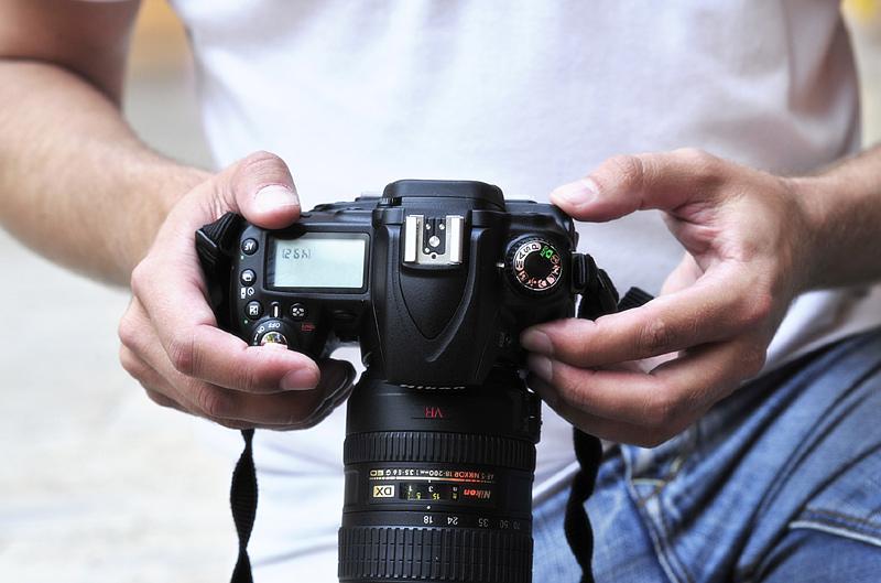 Mit der Spiegelreflex Fotos machen